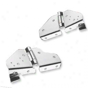 Rough Trail Windshield Hinges (stainless)