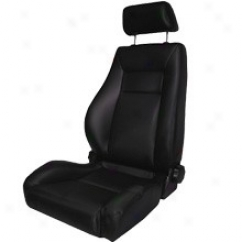 Rugged Ridge Front Super Seat With Recliner Black