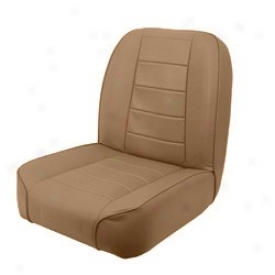 Rugged Ridge Low Back Front Bucket Seat Tan