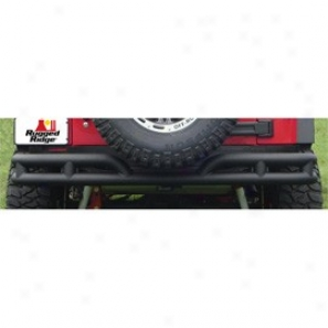 Rugged Ridge Rrar Tube Bumper Without Hitch Textured Black