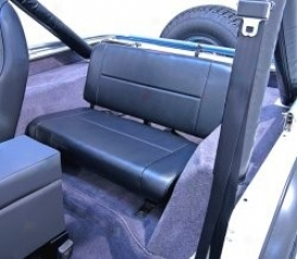Rugged Ridge Standard Rear Seat Black