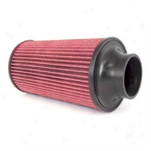Rugged Ridge Synthetic Conical Air Filter For Cold Expose to ~ Kit  17753.03 & 17753.20, 70mm Flange, 270mm Length