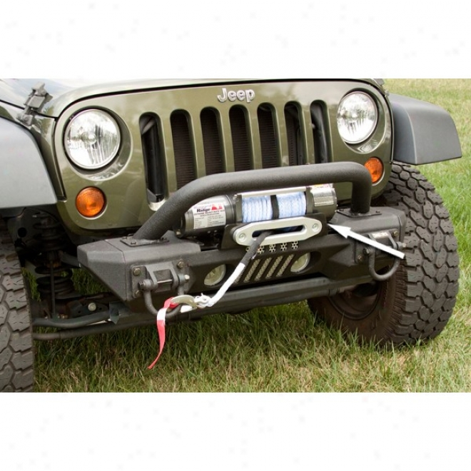Rugged Ridge Xhd Aluminum Front Bumper Winch Mounting Plate
