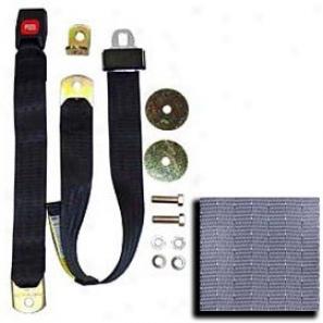 Seat Belt -  60 Inch Non-retractable Lap Belt Hoary Each