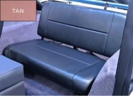 Seat Standard  Rear,  Tan