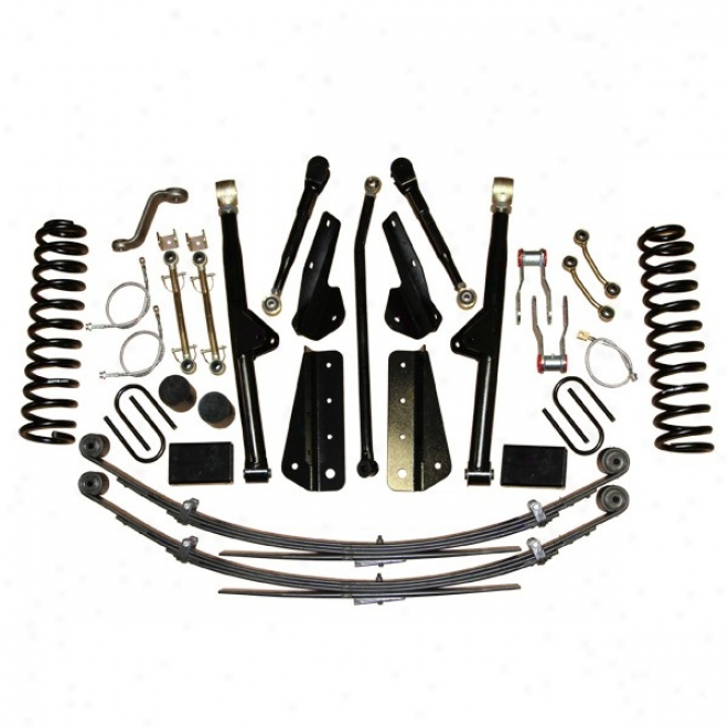 """skyjacker 6"""" Rock Ready Lift Outfit, Not at all Shocks"""