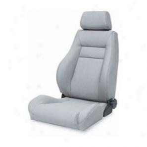 Smittybilt Contour Sport Seat With Recliner Gray Denim