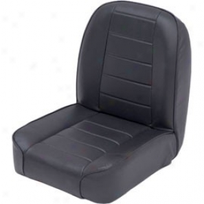 Smittybilt Low Back Bucket Seat Black