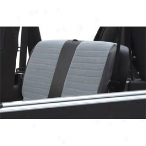 Smittybilt Xrc Jeep Rear Seat Cover Grey/black