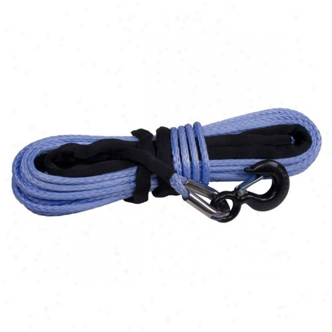 """synthetic Winch Rope 3/8"""" X 94', Breaking Force Of 19,310lbs, Rugged Extended elevation"""
