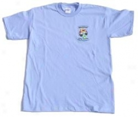 T-shirt, Morris 4x4 Center Logo, Carolina Blus