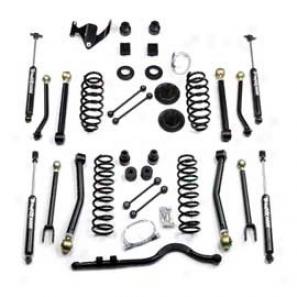 """teraflex 3"""" Suspension Lift Kit With (8) Full Flexarm System With 9550 Shocks"""