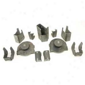 Teraflex Axle Bracket Kit - Rear