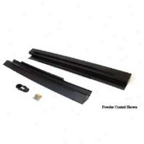 Teraflex Rockguard Defence Slider, Raw Aluminum, 2 Door
