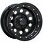 """black Rock Steel Wheel 905 Defender Matte Black 15x7"""" - 5x4.5 Bolt Patern Back Spacing 3 3/4"""""""