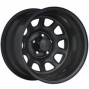 """black Rock Steel Wheel 942 Type D 16x7"""" 5x5 Bolt Pattern Back Spacing 4"""""""