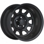 """black Rock Hardness Wheel 942 Type D 17x9"""""" 5x4.5 Bolt Pattern Back Spacing 4 1/2"""""""
