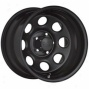 """black Rock Steel Wheel 997 Type 8 16x7"""" 5x5.5 Bolt Pattern Back Spacing 4"""""""