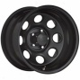 """black Rock Steel Wheel 997 Type 8 17x8"""" 5x5 Bolt Pattern Back Spacing 4 1/2"""""""