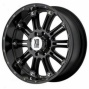 """kmc Xd Series Wheel Hoss, Black, Size: 17"""" X 9"""" - Bolt Pattern: 5 X 5.0"""", Back Spacing: 4.53"""""""