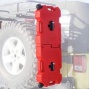 Lod Gen 3 Rotopax 2 Gallon Over/under Gas Can Mount, No Polishing, Passenger Side Only