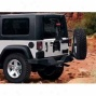Mopar Off-road Rear Bumper Tire Carrier