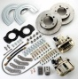 Rear Drum To Disc Conversion Kit For Vehicles Through  Dana 35 Axles