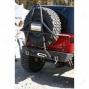 River Raider Hind part Bumper - Rock Crawler W/tire Cage, Bare Steel