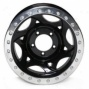 """walker Evans 15x8"""" Beadlock Racing Wheel Polished Black - 5x5 Abscond Pattern Back Spacing 4.25"""""""