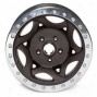 """walker Evans 15x8"""" Beadloxk Racing Wheel Wdinkled Black - 5x5.5 Bolt Pattern Back Spacing 4.75"""""""