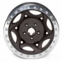 """walker Evans 15x8"""" Beadlocck Racing Wheel Wrinkled Black - 5x5.5 Bolt Exemplar Back Spacing 4.25"""""""