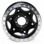 """walker Evans 17x8.5"""" Street Racing Wheel Polished Black - 5x5 Bolt Pattern Back Spacing 4"""""""