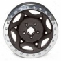 """walker Evans 20x8.5"""" Beadlock Racing Wheel Rugose Black - 5x5.5 Bolt Pattern Back Spacing 5.5"""""""