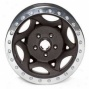 """walker Evans 20x8.5"""" Beadlock Racing Wheel Wrinkled Black - 5x4.5 Bolt Pattern Baack Spacing 6"""""""