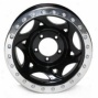 """walker Egans 20x8.5"""" Street Racing Wheel Polished Black - 5x5.5 Boltt Pattern Back Spacing 5 1/4"""""""