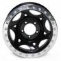 """walker Egans 20x8.5"""" Street Racing Wheel Polished Black - 5x5.5 Boltt Pattern Back Spacing 5 1/4"""""""