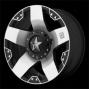 """wheel Pros Kmc - Xd775 Series, Rockkstar Machined Black 18""""x9"""" Wheel"""