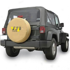 Tire Cover Wp Logo Tan Vnyl