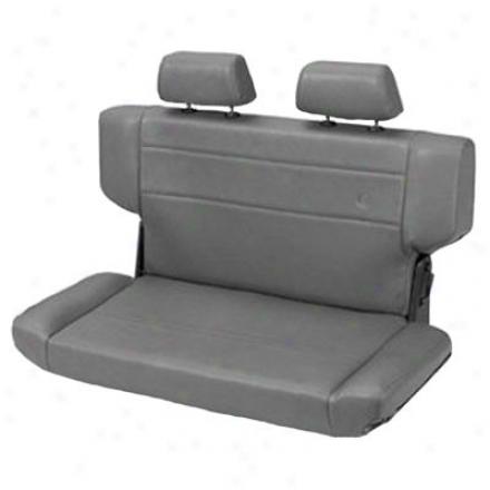 Trrailmax Ii Fold & Tumble Rear Bench Seat Vinyl Charcoal