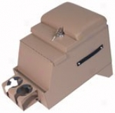 """tuffy Security Products Deluxe Stero Security Console 12 1/2"""" Wide Light Tan"""