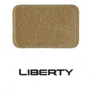 Ultimat Floor Mats 4 Piece Set Antelope Mats Front With Black Liberty Logo, Rears No Logo, &.driver's Left Foot Rest.