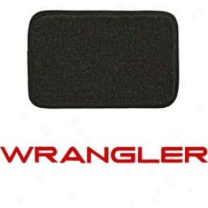 Ultimat Floor Mats 4 Piece Set * Graphite With Red Wrangler Logo