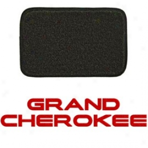 Ultimat Floor Mats 4 Piece Set* Graphite With Red Grand Cherokee Lobo