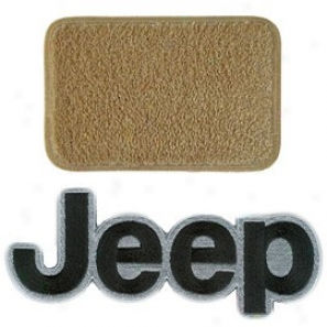 Ultimat Floo Mats Front Pair Antelope With Black Jeep Loto