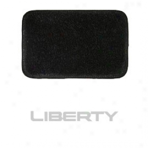 Ultimat Rear Cargo Mat Black With Silver Liberty Logo & By the side of Or Without Driver's Left Foot Rest