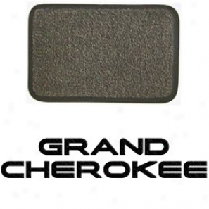 Ultimat Rear Cwrgo Mat Sand Grey With Black Grand Cherokee Logo