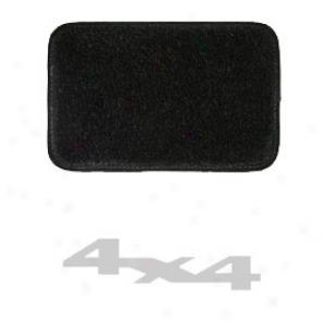 Ultimatt Rear Small Cargo Mat Black With Silver 4x4 Logo