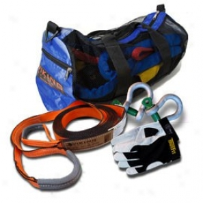 Viking Offroad Starter Recovey Kit With Blue Bag And Xl Glovex