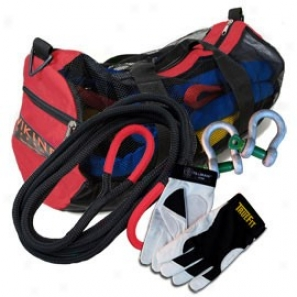 Viking Offroad Ultralight Recovery Kit With Red Bag And Xl Gloves