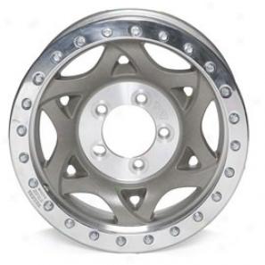 """walker Evans 17x8.5"""" Street Racing Wheel Nonpolished - 5x5.5 Bolt Pattern Back Spacing 5 1/2"""""""